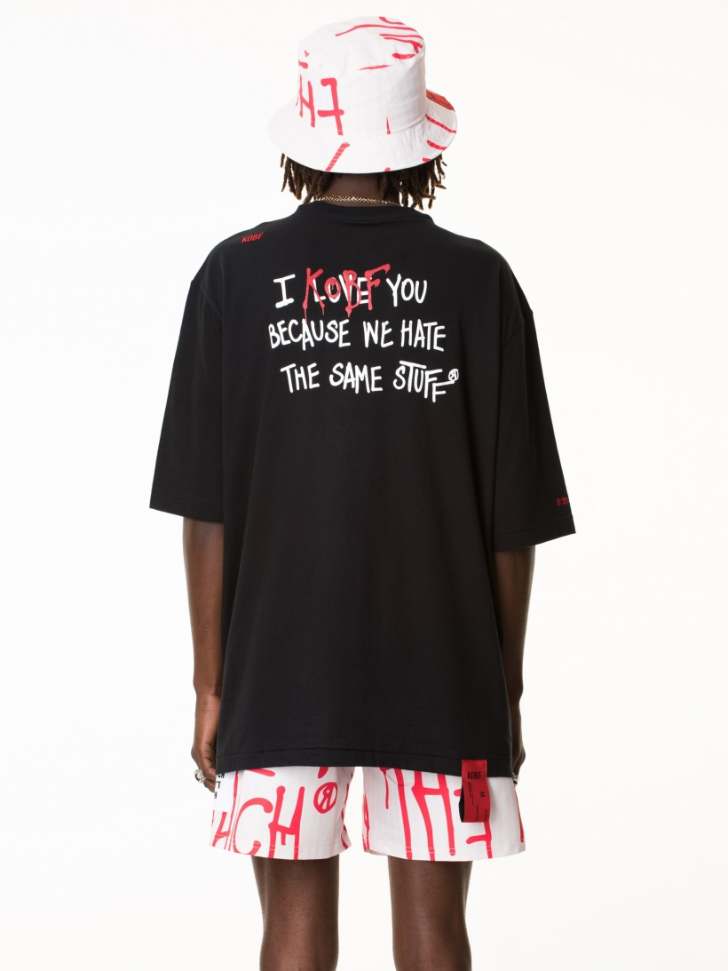 LOVE TSHIRT BLACK