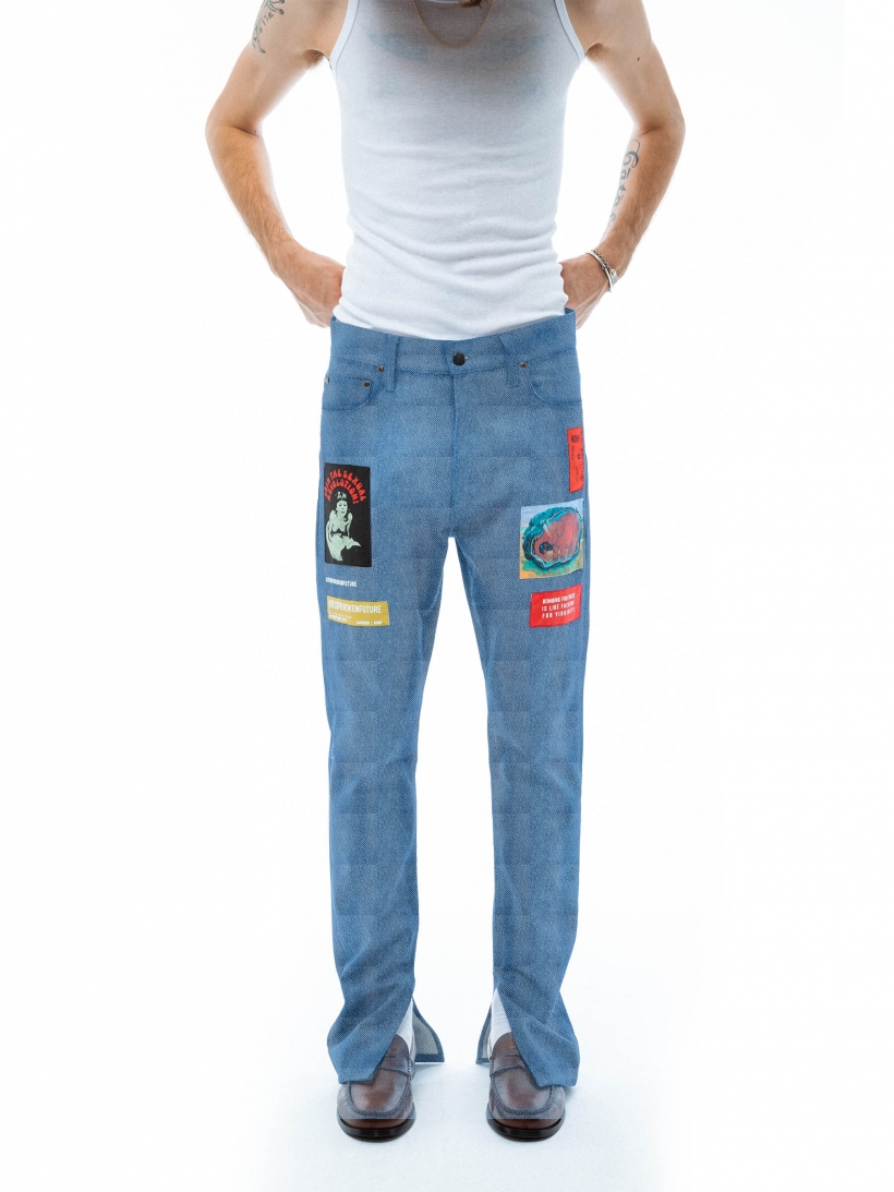 CHRIS PATCH PANTS