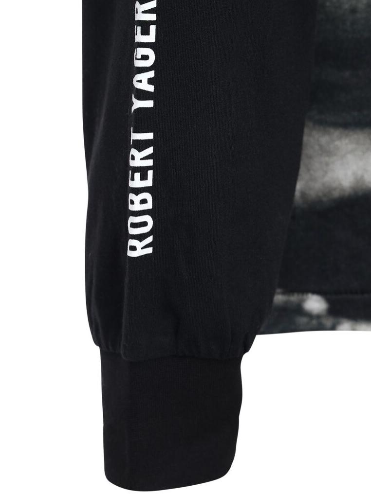 ROBERT YAGER LS BLACK TSHIRT