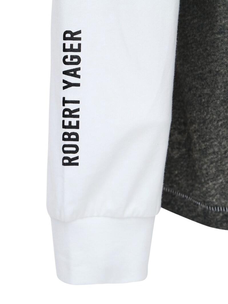 ROBERT YAGER LS WHITE TSHIRT